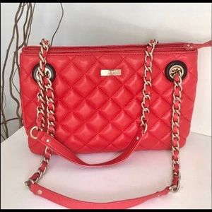 Kate Spade quilted red bag
